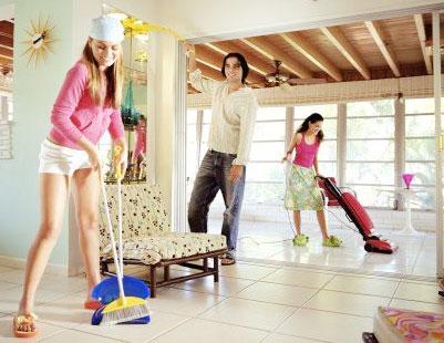 Dịch vụ vệ sinh nhà cửa, nhà ở