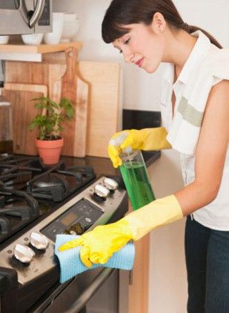 Cách vệ sinh bếp ga âm